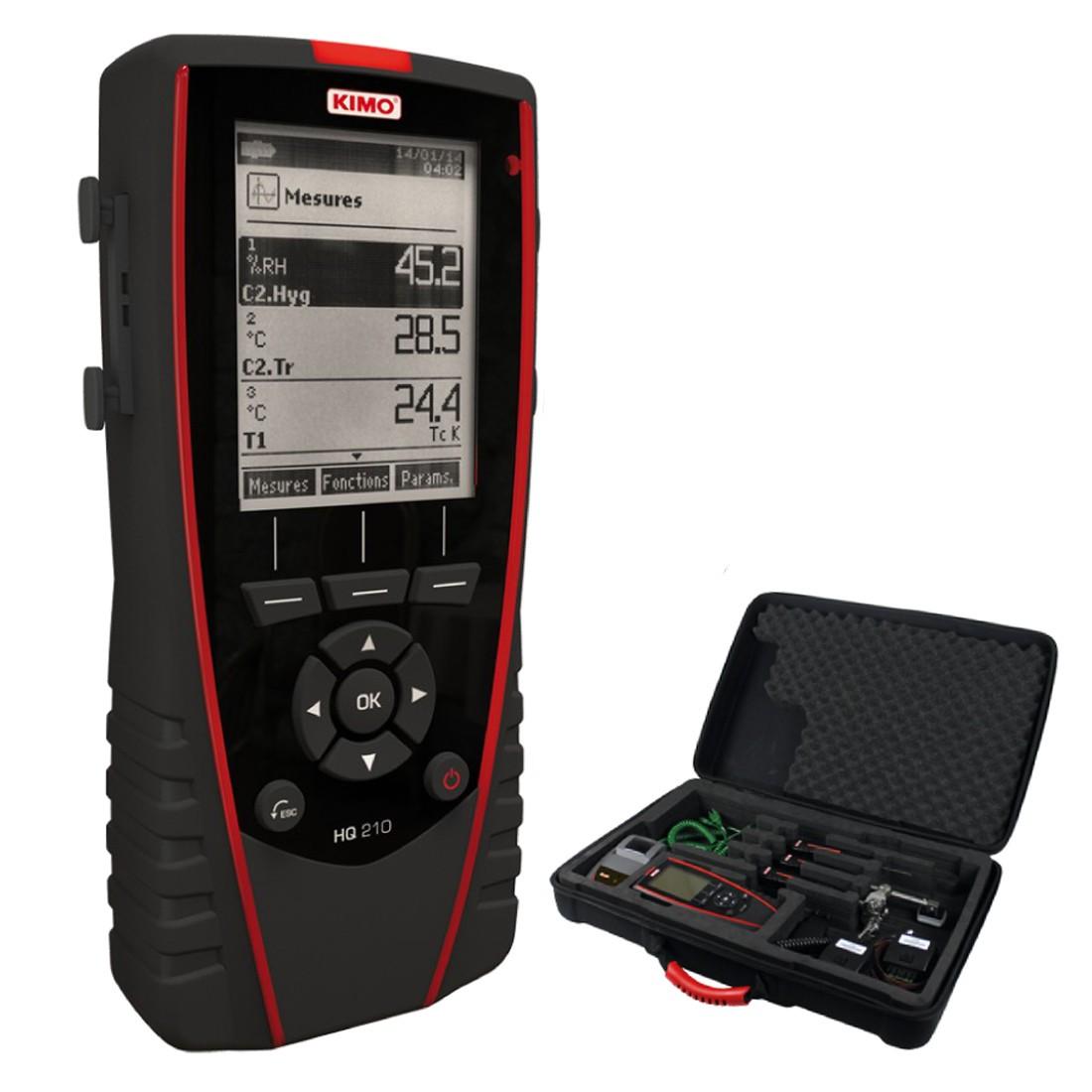 KIMO HQ 210 Multifunktionshygrometer, Luftqualitätsmessgerät
