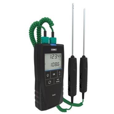 KIMO TK 61/62 Thermometer für Thermoelemente 1/2 Kanal