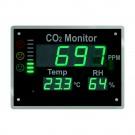 AIRCONTROL Vision - große Luftgüteampel für CO2, Temperatur, Feuchte