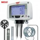 KIMO C 310 Multifunktions-Messumformer für Differenzdruck mit Strömung, Temperatur, Feuchte, Strömung, CO, CO2