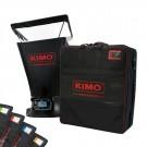 KIMO DBM-610C Volumenstrom-Messhaube für Differenzdruck, Temperatur, Luftgeschwindigkeit, Volumenstrom mit fünf Messhauben