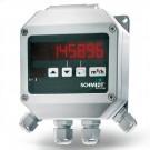 SCHMIDT LED-Messwertanzeige mit Ausgang, 2 Wechslerkontakten u. optionaler Summenfunktion