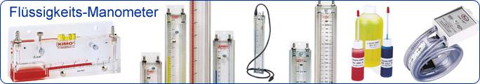 Flüssigkeits-Manometer