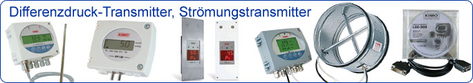 Differenzdruck-Transmitter, Strömungstransmitter