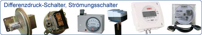 Differenzdruck-Schalter, Strömungsschalter