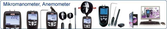 Mikromanometer, Anemometer