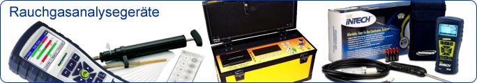 Rauchgasanalysegeräte