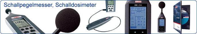 Schallpegelmessgeräte, Schalldosimeter